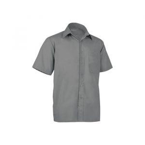 Camisa manga curta em cambraia