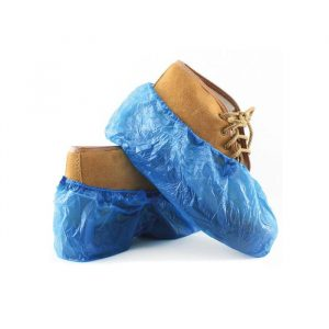 Cobre-sapatos em polietileno